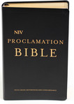 NIV Proclamation Bible (Leather Bound)