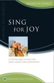 Sing for Joy: Singing in church
